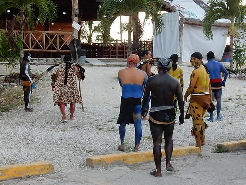 Coba - Mayas voor de show
