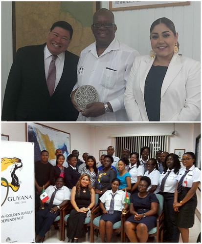 México fortalece la cooperación con Guyana en la enseñanza del español