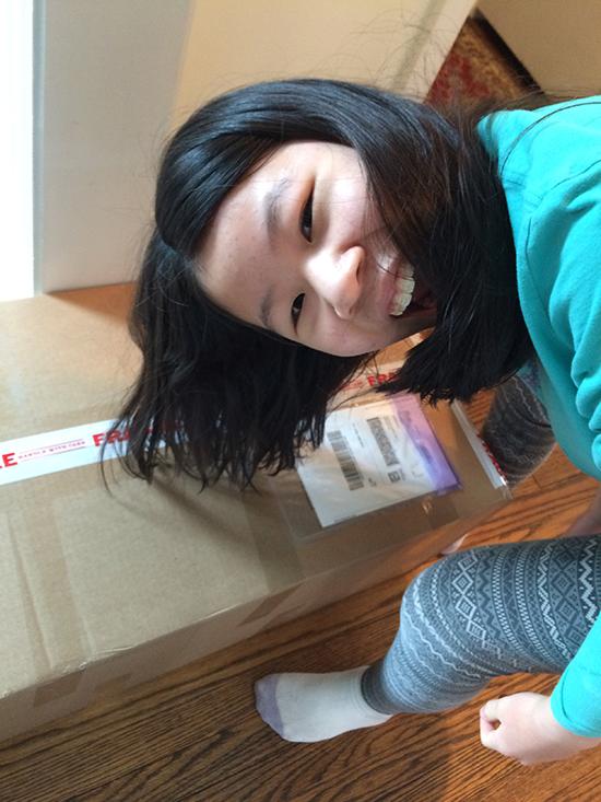 box arrived