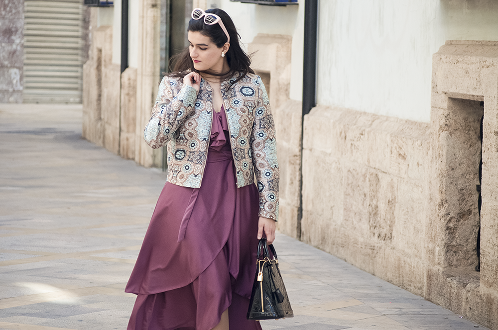 valencia fashion blogger spain somethingfashion vlc moda vintage vestido morado bimba y lola sunnies colorful estilo streetstyle amanda ramon_0076