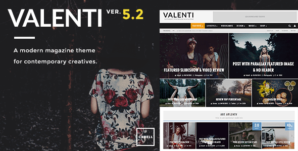 Valenti v5.5.0 - WordPress HD Review Magazine News Theme