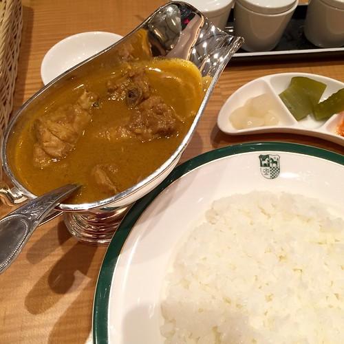 純印度式カリー@Manna(新宿中村屋)