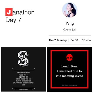 Janathon Day 7 is underway, @yoogaia Yang session done along with my strength work.....lunch run has been pushed to the end of the day though because someone forgot to invite me to a 90 minute meeting 😕 #yoga #yogaeverydamnday #yogaforrunning #yo