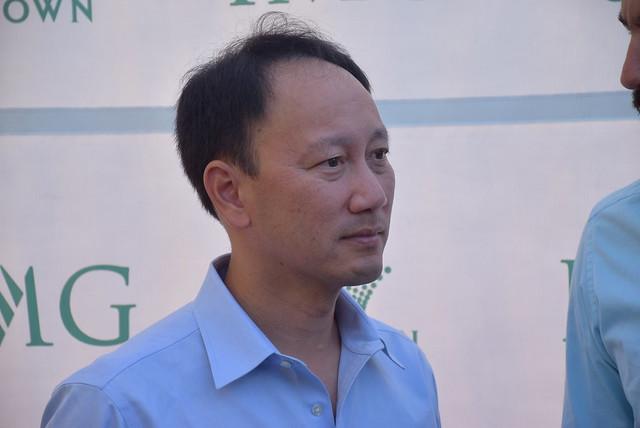 Ex tennis champ Michael Chang (US)