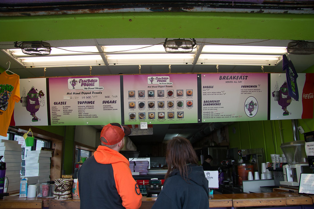 Fractured Prune Menu