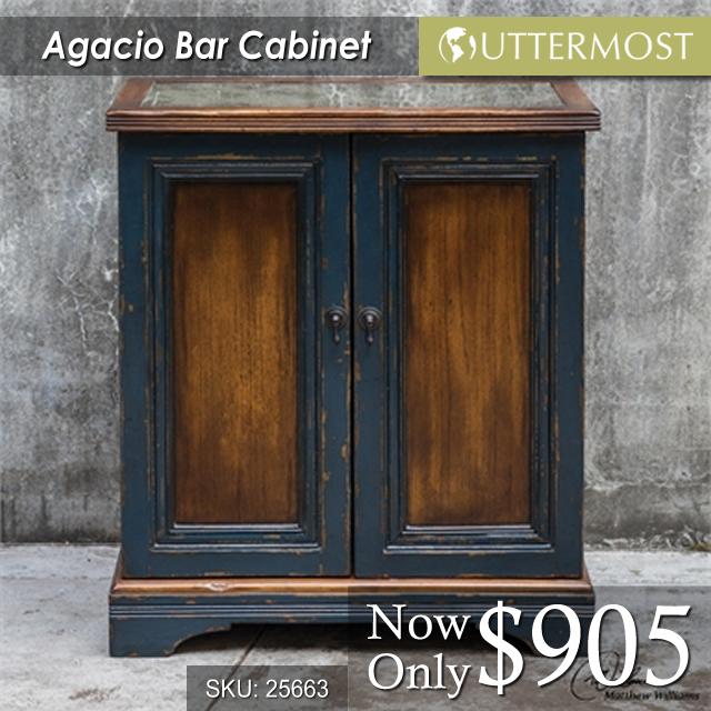 25663 Agacio Bar Cabinet $905
