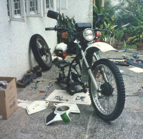 Honda XL185 Restoration