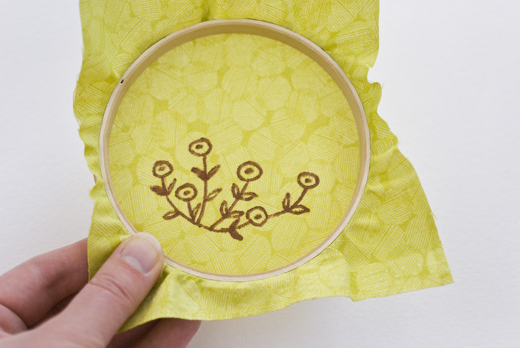 Painting an Embroidery Pattern