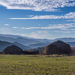 2. Detsember 2015 - 11:30 - Love this view... One of the best views from the trip! This was in Coustaussa, France. These stone huts are scattered all over the hills. What do YOU think they were built for?