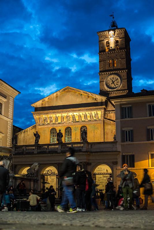 Basílica de Santa María en Trastevere