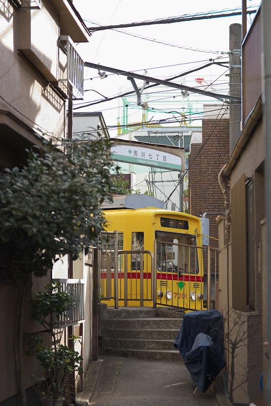 Tokyo Train Story 都電荒川線 2016年1月24日