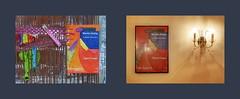 "Exhibition Monika Seelig ""Don`t Fuss"" Cafe Hegelhof Diary Tapestry Tagebuch Teppich Tapisserie Tagebuch 13 Jänner 2016 (Jahreswechsel 1. Jänner gefundene abgebrannte Feuerwerkskörper 2. Jänner gefundener Luftballon) Timeline golden thread goldener Faden"