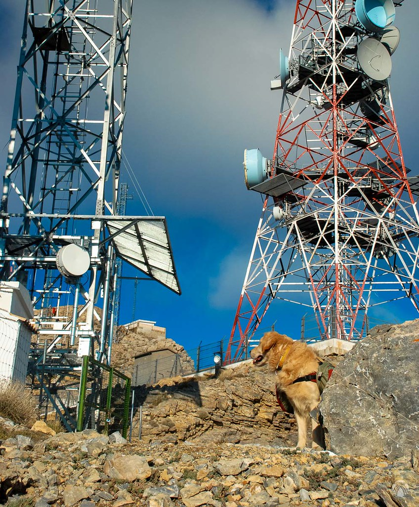 Antenas de la cumbre