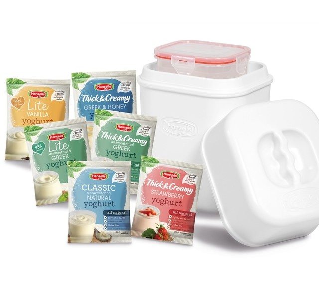 Win Your Very Own Yoghurt Maker from Hansells Yoghurt