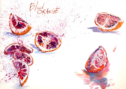 Sketchbook #94: Blood Oranges!