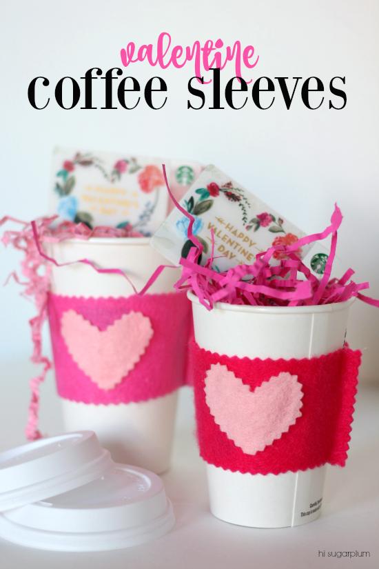 Hi Sugarplum   Valentine Coffee Sleeves/Teacher Gift