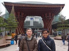 20160227Kanazawa with Helmy from UM