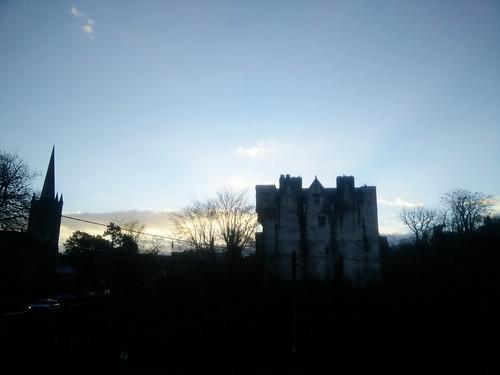 sunset castle donegaltown 2015 churchofireland mickt