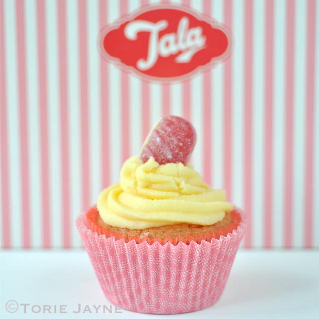 Gluten Free Rhubarb & Custard Cupcake Recipe 5