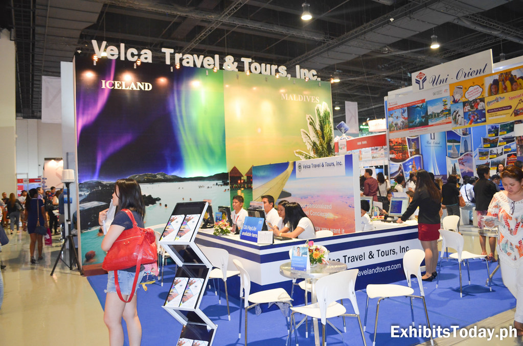 Velca Travel & Tours Exhibit Stand
