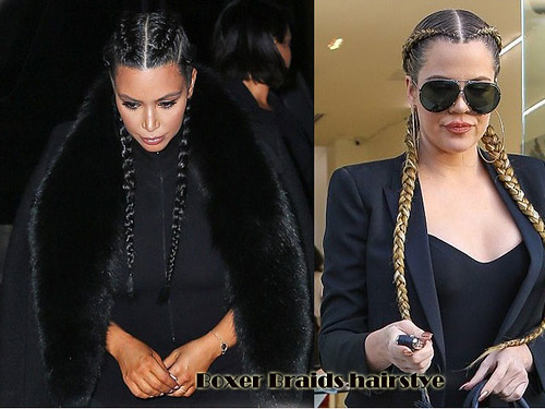 Boxer braids hairstyle trend