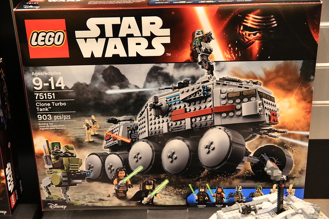 LEGO Star Wars 75151 Clone Turbo Tank 1