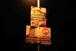 2016.02.24 Rathenow NPD Wahlplakate (2)