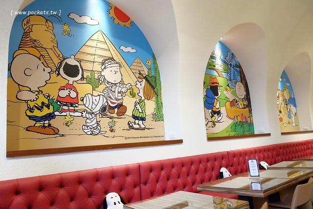 25220975500 08a22005db z - 【台中西屯】查理布朗咖啡.Charlie Brown Cafe:位於秋紅谷正對面鄰近朝馬車站,環境很漂亮也很好拍,餐點可愛觀賞性大於美味性