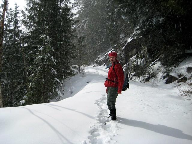 CCC Trail - Western Trailhead