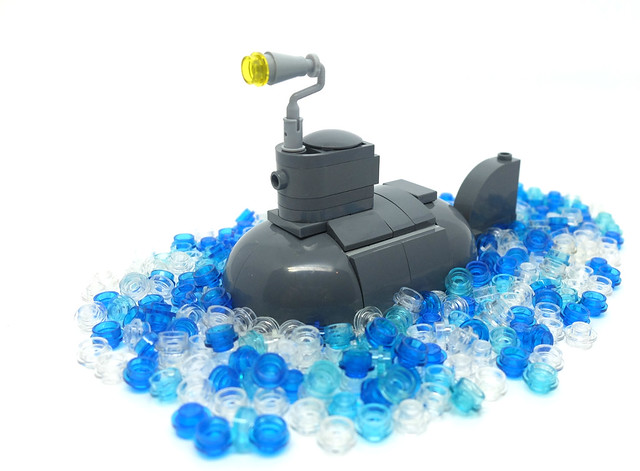 LEGO Iron Builder - Prepare to dive!