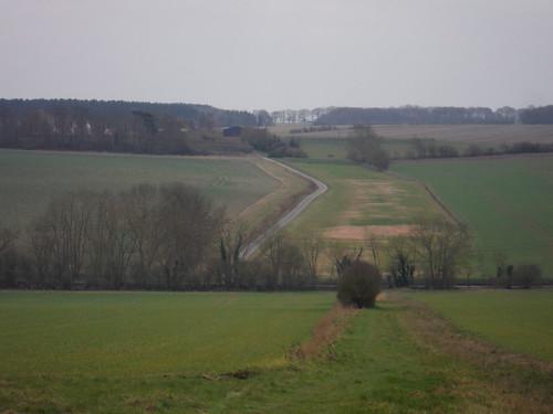 Essex' highest point from Chrishall Church