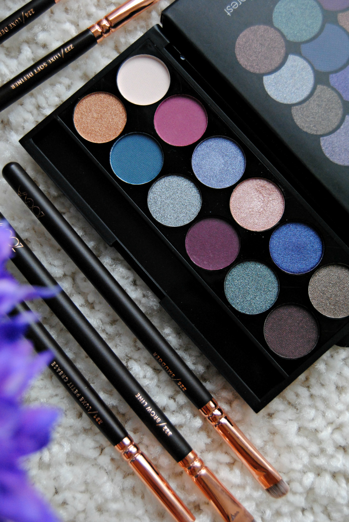 Sleek Enchanted Forest palette (02)