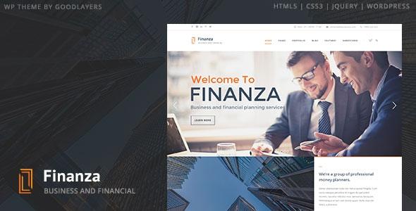 Finanza v1.03 – Business & Financial WordPress Theme