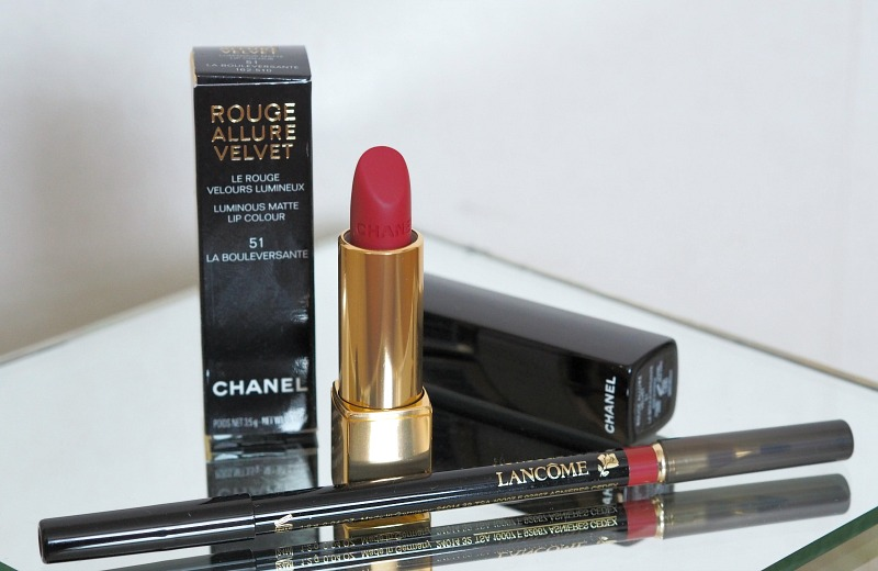 chanel lipstick lancome lipcontour