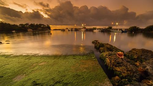 mer nature port nuit guadeloupe poselongue