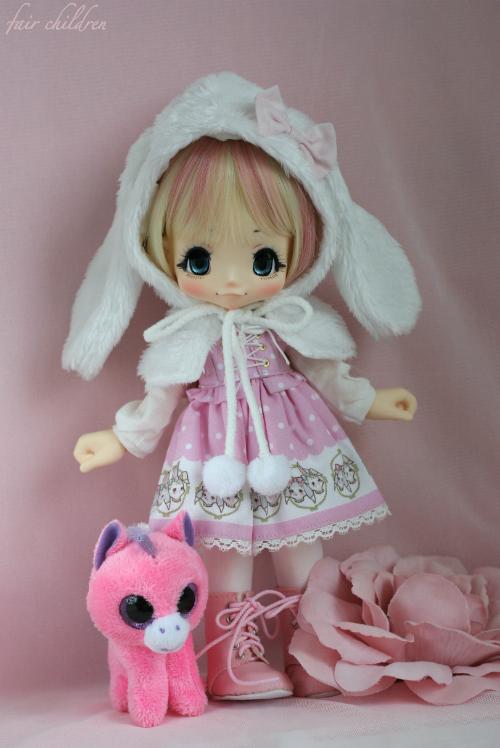 Sweet pink bunny 3
