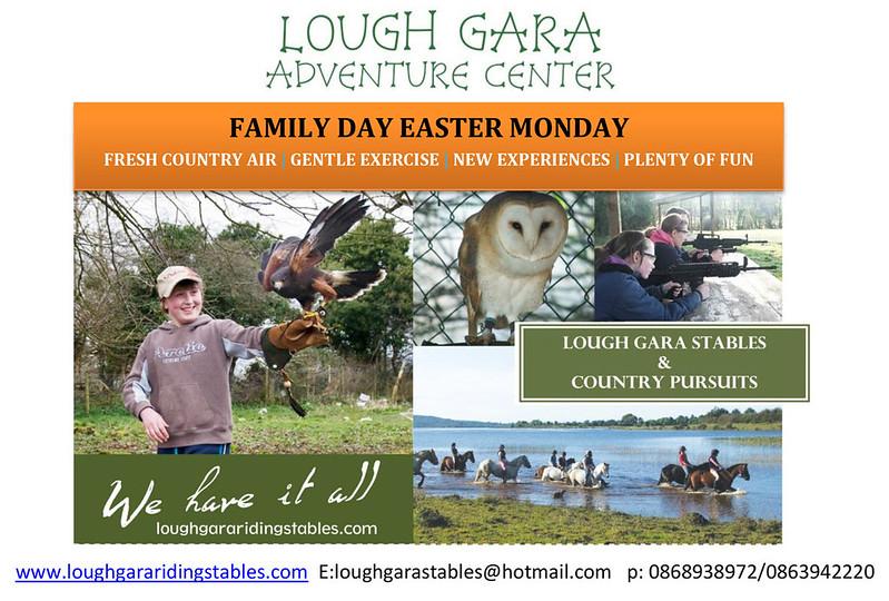Family Day - Lough Gara Adventure Centre