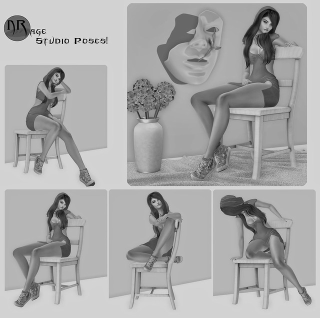 NRage Studio Poses! - I'll Just Sit Here