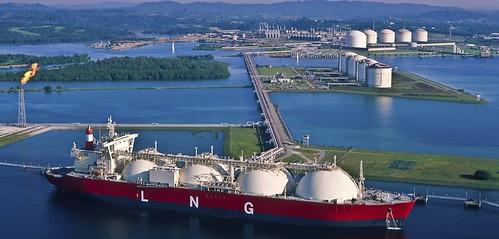 Перший газ із США прибув до Європи