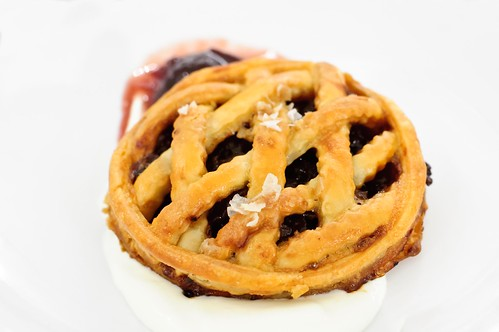 Linzer Torte with Bacon Jam