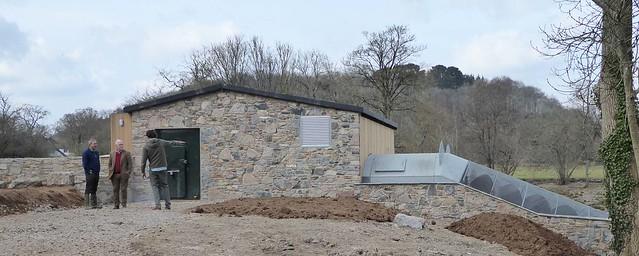 Turbine Building exterior