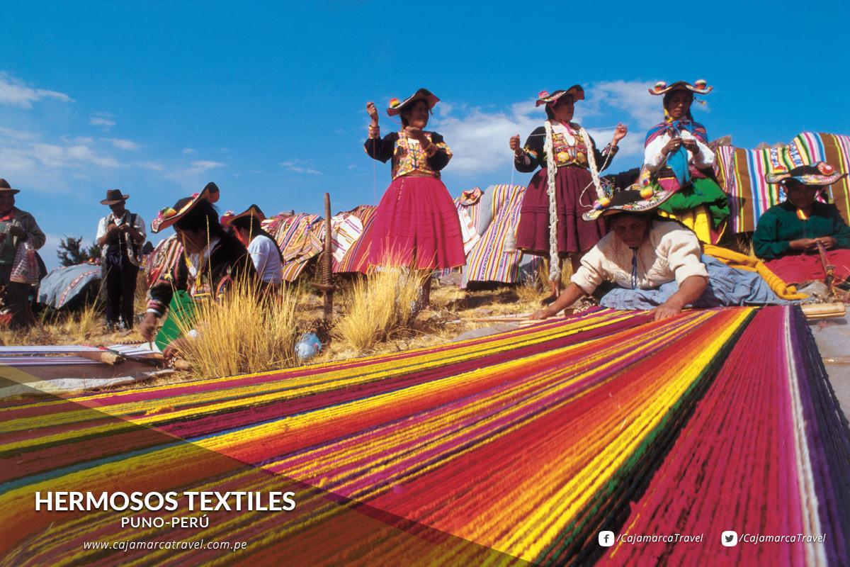 Hermosos textiles.