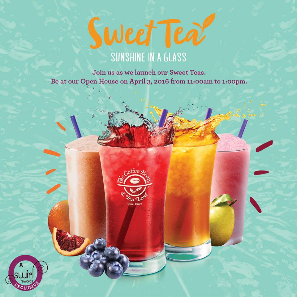 cbtl sweet tea open house