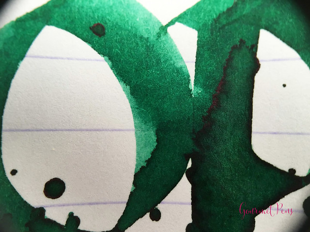 Ink Shot Review Diamine 150th Anniversary Tropical Green (8)