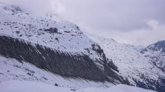 Schronisko Chamanna Boval 2495m z lodowca Morteratsch