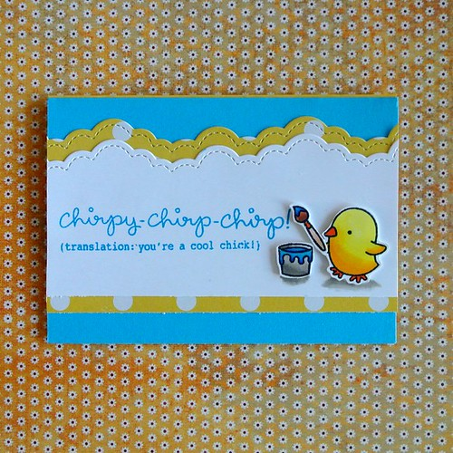 Chirpy Chirp Chirp Card 1