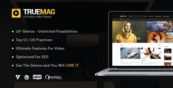 True Mag v4.2.9.5 – WordPress Theme for Video and Magazine