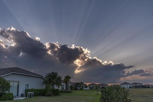 sunset sun clouds florida d750 rays avemaria 1835mm emersonpark