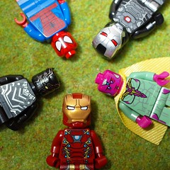 ironman team#ironman#lego#legominifigure