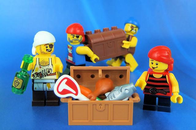 Pirate Cook's Secret Treasure!